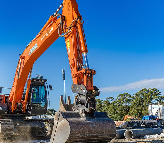Pipeline Construction. Mid North Coast Contractors